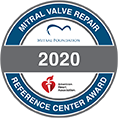 Mitral Valve Repair Reference Center Award Logo