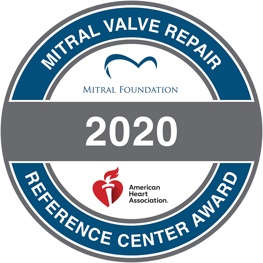 Mitral Valve Repair Reference Center Award seal